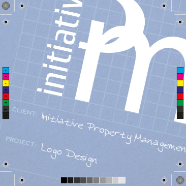 Initiative Property Management Logo Design